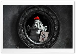 Mary And Max Mirror Reflection HD Wide Wallpaper for Widescreen