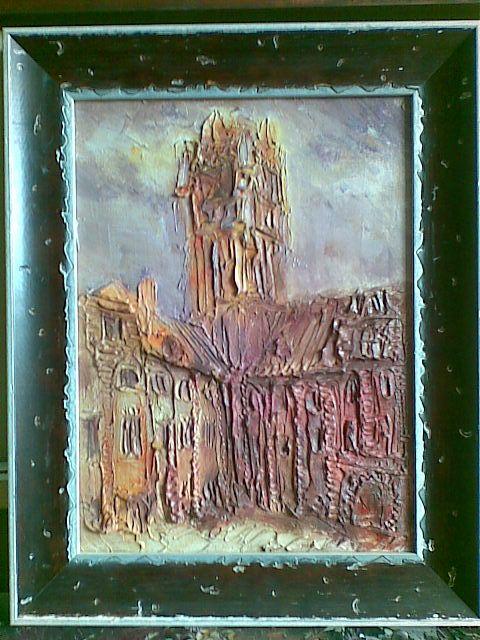 Toruń Ratusz - relief