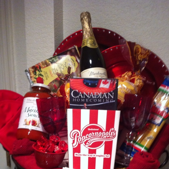 Couples Gift Ideas For Home: 10 Best Movie Night Gift Baskets Images On Pinterest
