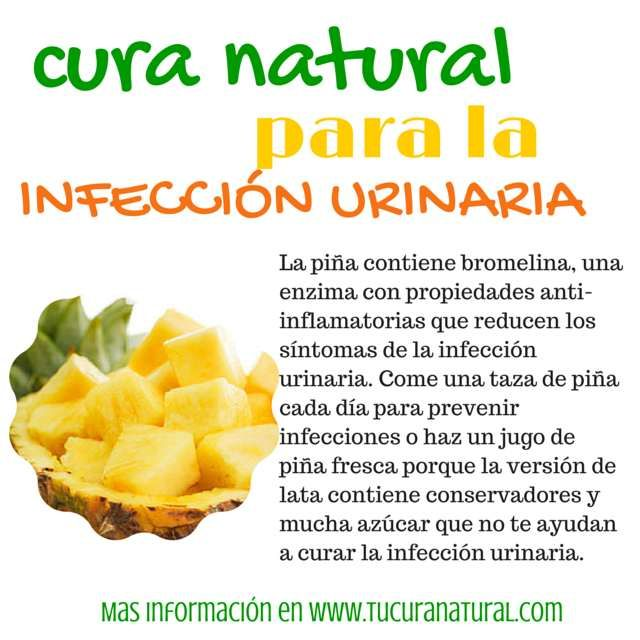 Cura natural para la infección urinaria