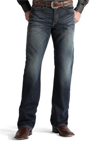Ariat Men's Tracker Duster Boot Cut Jeans #Cowboy Jeans!