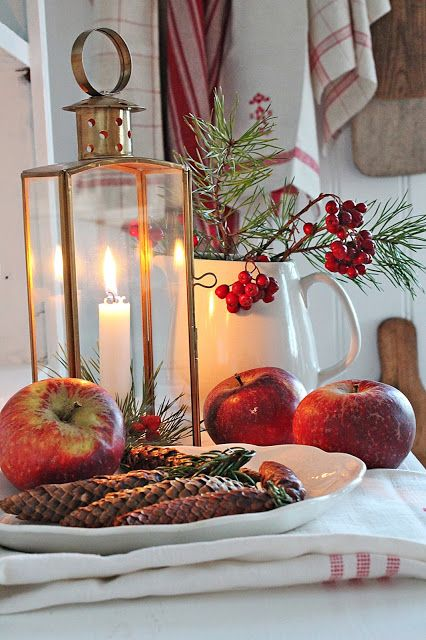 VIBEKE DESIGN Kerst / Christmas -- love the Scandinavian look