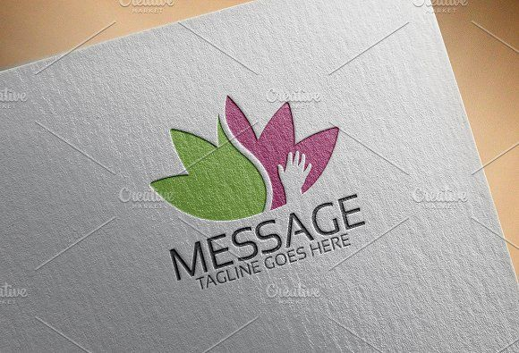 Massage Logo by Josuf Media on @creativemarket