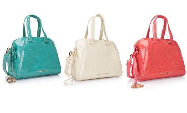 Tres colores para el mismo bolso de Fornarina