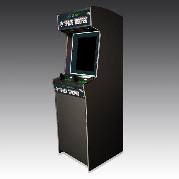 Waldersmith Space Trooper Arcade Machine