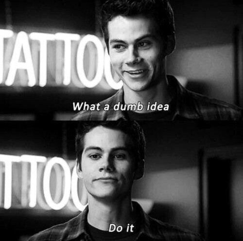 Just do it, Dot it now