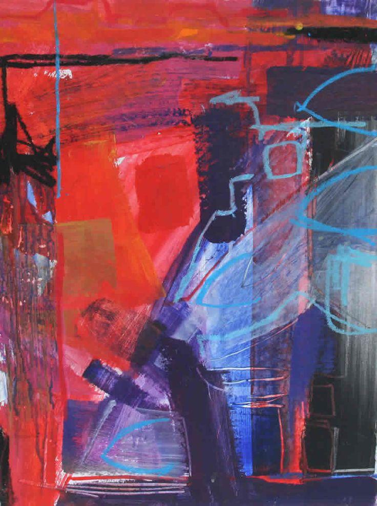 Boats Mixed Media on Board 51 x 38 cm £ 1,250  #Art #Paintings #Seascape