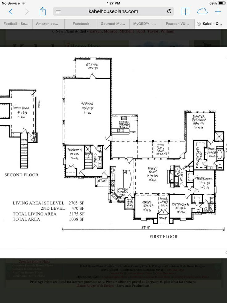 Southern Louisiana House Plans - house-plans Kabel House Plans ...