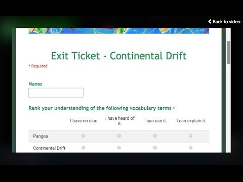 Quick Tip: Embed a Google Form in a ThingLink Video | Cool Tools for 21st Century Learners