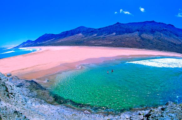 Playa Cofete.Fuerteventura. (CANARY ISLANDS)