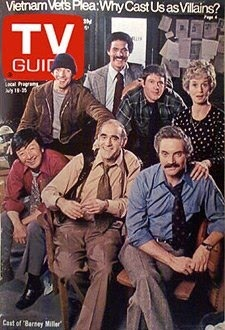 July 19 1975- Barbara Barrie, Maxwell Gail. Ron Glass, Hal Linden, Gregory Sierra, Jack Soo and Abe Vigoda ( Barney Miller)