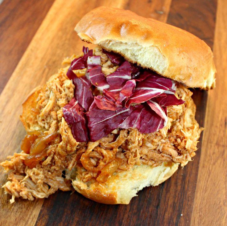 23 best pulled turkey images on pinterest turkey for Leftover shredded turkey sandwiches