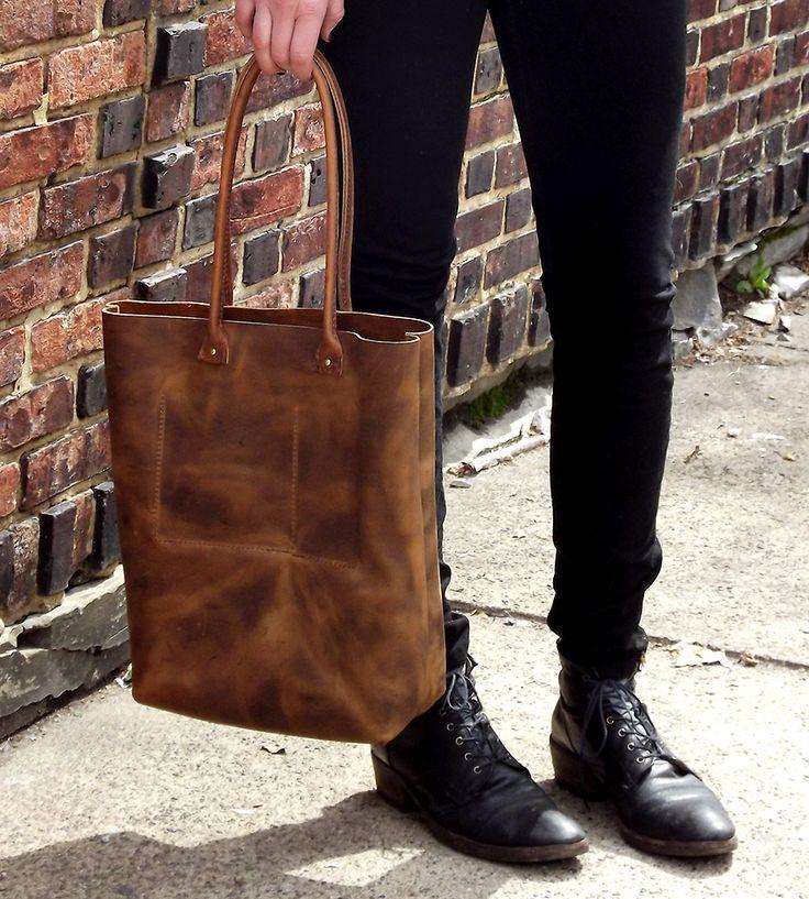 Leslie Leather Tote