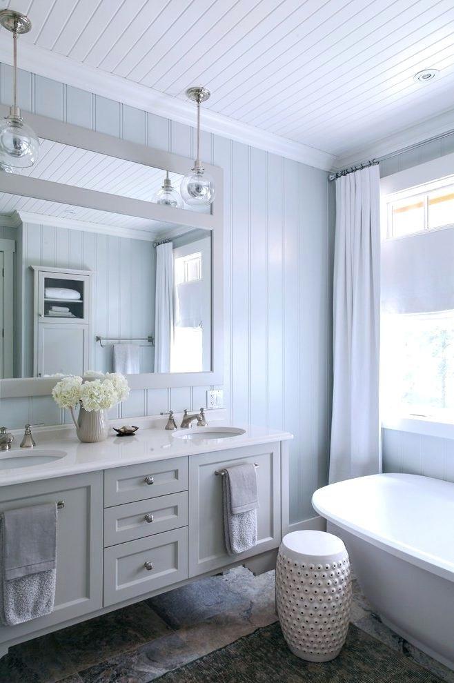 Found On Bing From Www Beachwooddaylily Com Beadboard Bathroom White Wood Paneling White Paneling