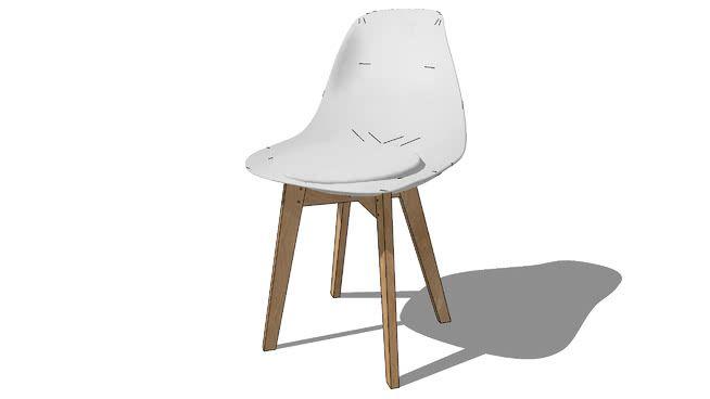 Chaise Ice Blanche Maisons Du Monde Ref 147060 Prix 59 99