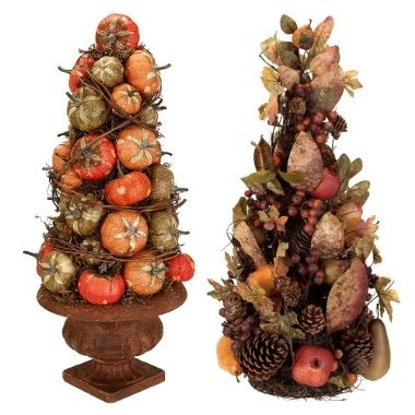 .: Centerpieces Ideas, Fall Centerpieces, Nice Pin, Decor Fall, Fall Topiaries, Fall Decorations, Fall Trees, Pumpkin Trees, General Pins