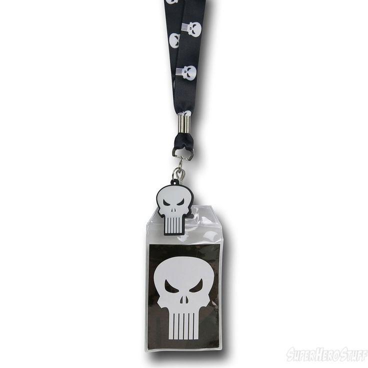 Images of Punisher Symbol Lanyard