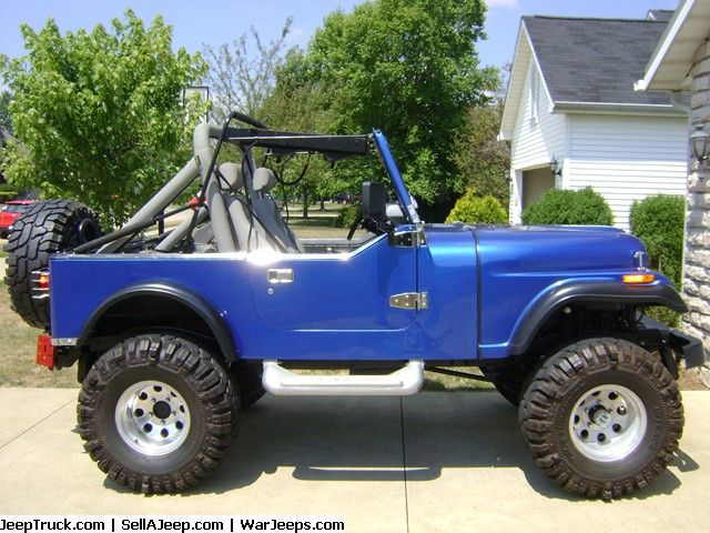 jeeps  | Jeeps For Sale and Jeep Parts For Sale - Awesome Jeep CJ7