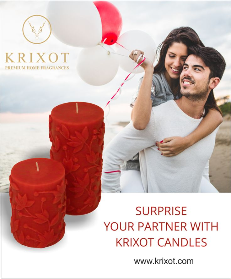 This #SeasonOfLove, Sweep your Bae off her feet and floor her with Premium #Candles crafted with finesse from the House of #Krixot  For more details, visit - www.krixot.com