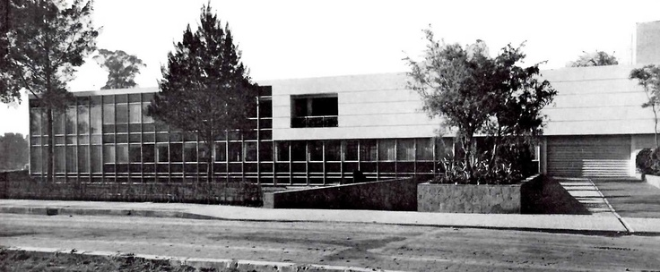 193 best mid century mexican architecture images on for Bauhaus oficinas centrales
