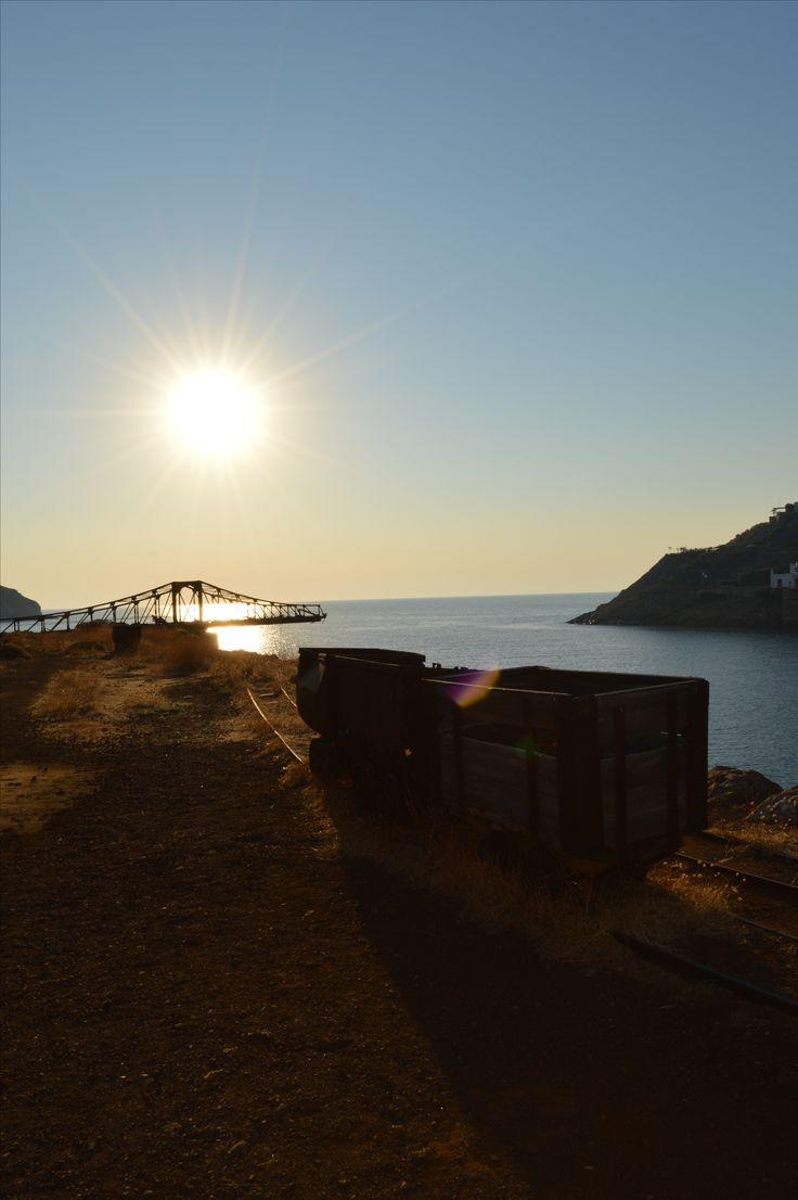 Old mines on Serifos island