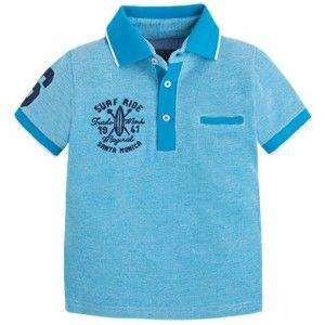 MAYORAL koszulka polo dwukolor 3122 56