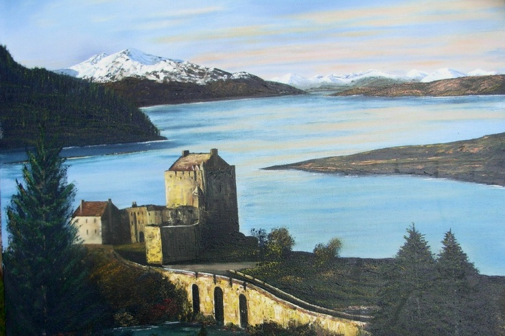 Eilan Donan Castle, Scottish Highlands