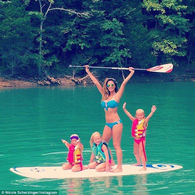 Nicole Scherzinger shows off her incredible bikini body #dailymail