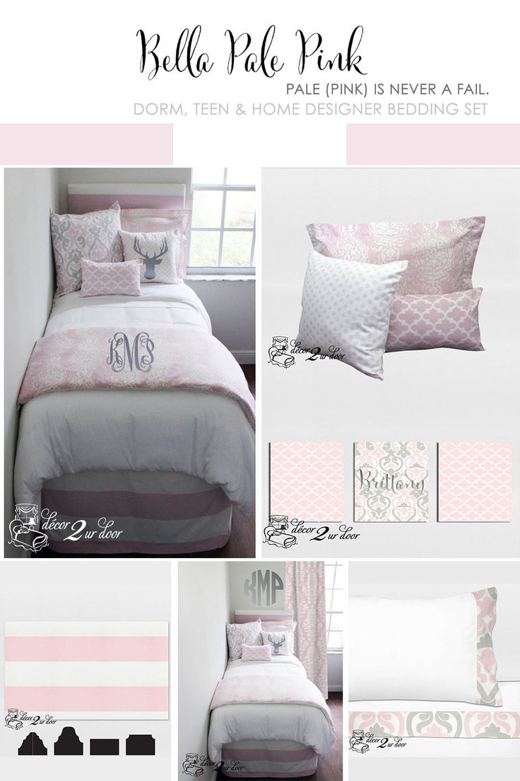 Pink Dorm Room Bedding Is This Yearu0027s Hottest Trend. Decor 2 Ur Door Offers  Pre Designed Pink Dorm Room Bedding Sets That Fit Your Uni Part 21