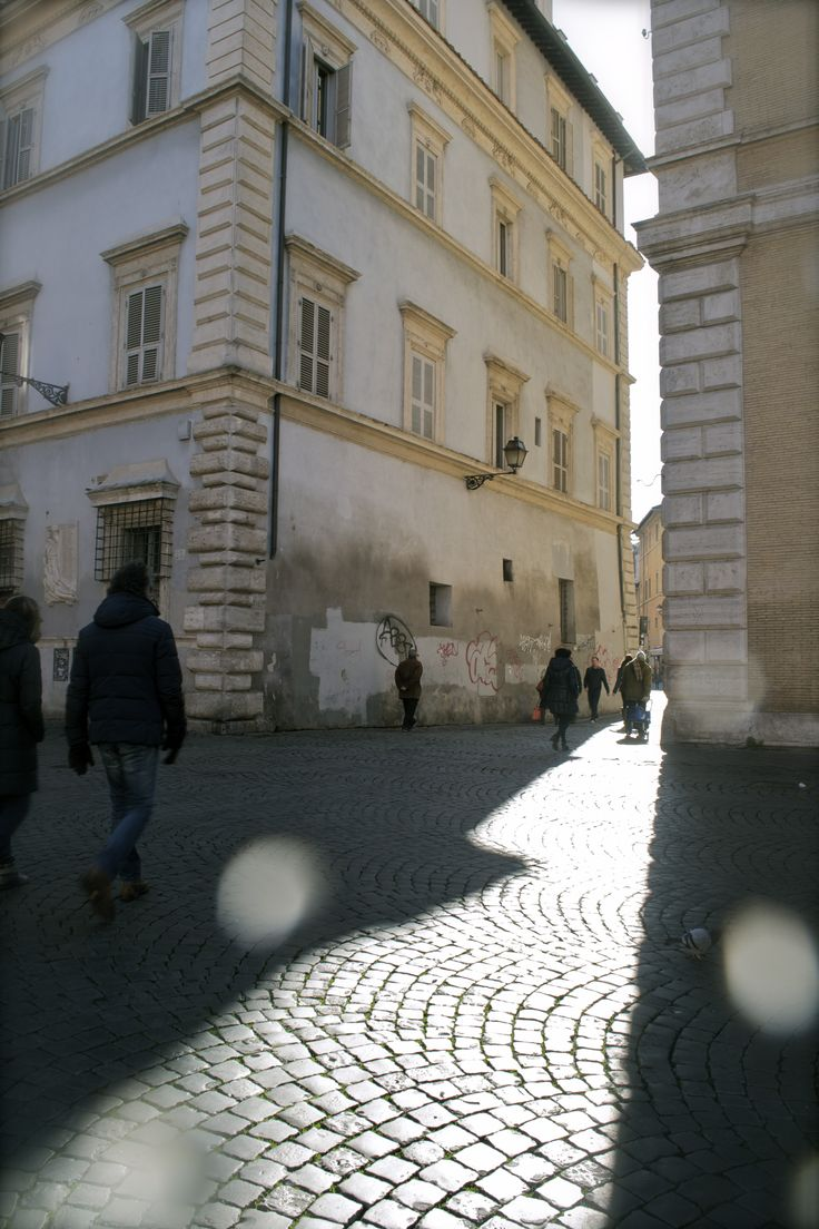 #Street #Trastevere, Rome Early morning in Piazza Santa Maria in Trastevere,among the most famous of the city,is characterized by locals walking to work before the area gets full of turists