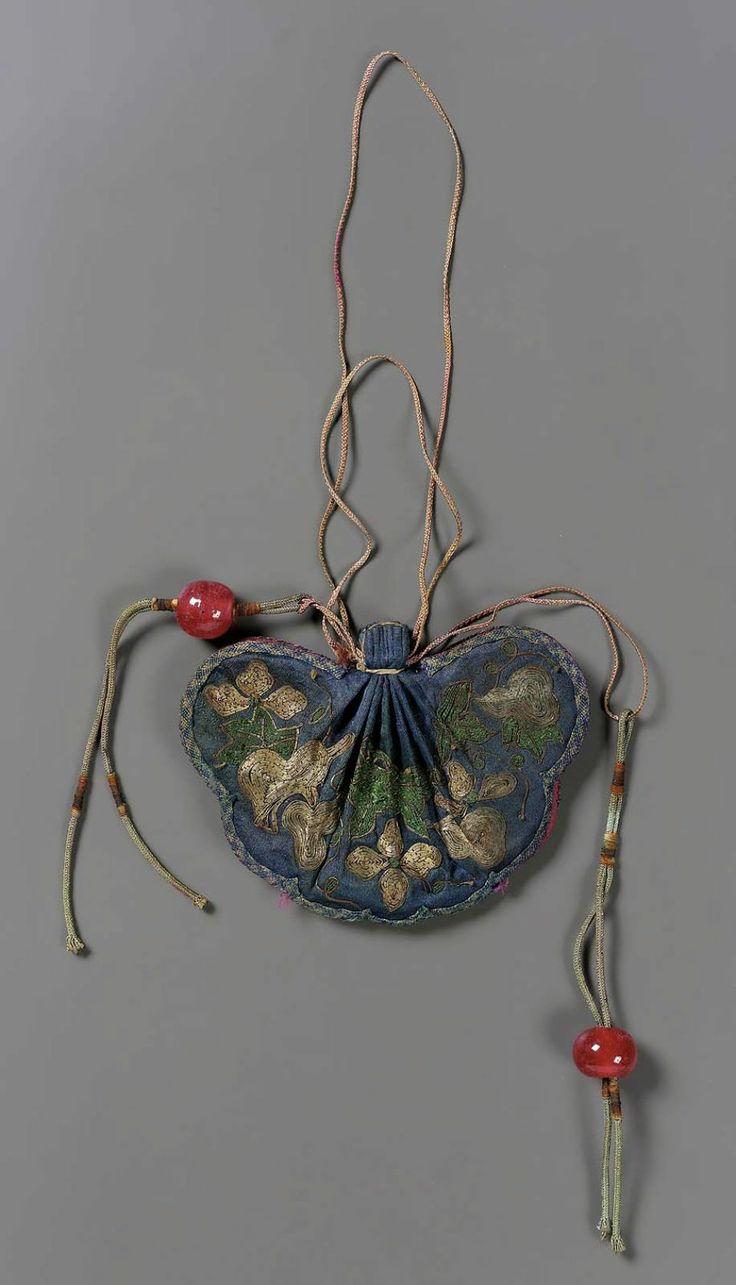 Qing Dynasty Murse (man purse)