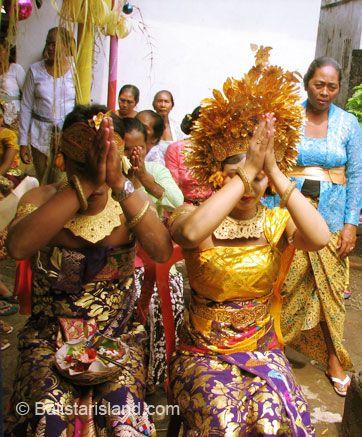 Balinese Wedding Ceremony, Hindu Rituals