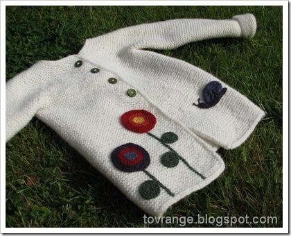 Inspirasjon til jakke med rundfelling fra Nøstebarn.