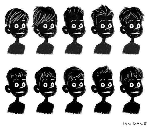 Cartoon Boy Hairstyle Art And Photography Pinterest