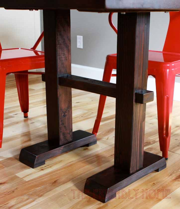 Pedestal dining table woodworking plans woodworking for Diy square pedestal table