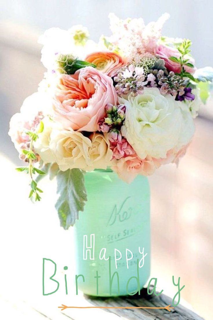 286 best happy birthday flowers images on pinterest happy brithday happy birthday to you izmirmasajfo