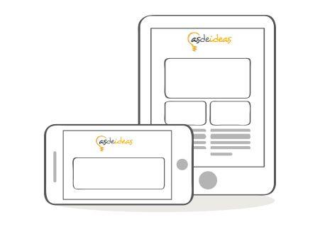 #Tipsasdeideas #diseñoweb #diseñoresponsive #empresariosdeexito   Diseño Responsive  Debido a que cada vez son más los usuarios que utilizan Smartphones para realizar búsquedas en Internet, es importante que el diseño de tu página web se adapte a esta tendencia. En Asdeideas desarrollamos diseño responsive o adaptative para dispositivos como iPad, Tablet, entre otros.