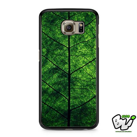 Green Leaves Samsung Galaxy S7 Case