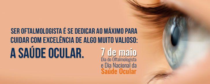 CBO - Conselho Brasileiro de Oftalmologia - Dia do Oftalmologista