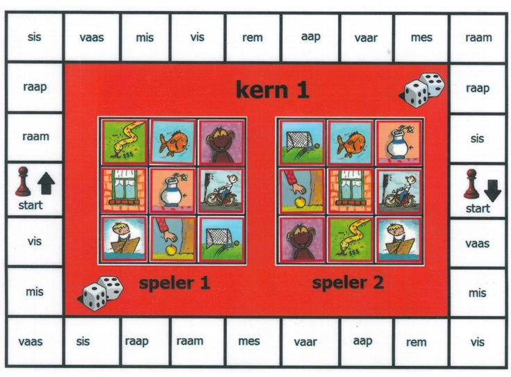 Spelbord 1.1 na kern 1