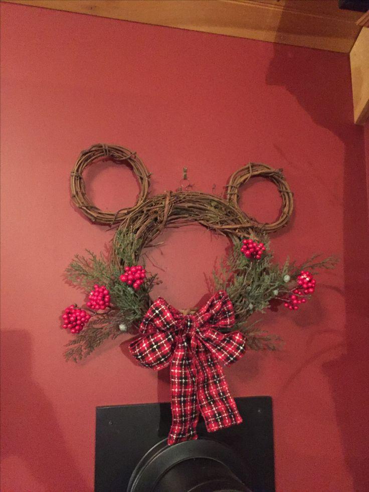 Disney wreath