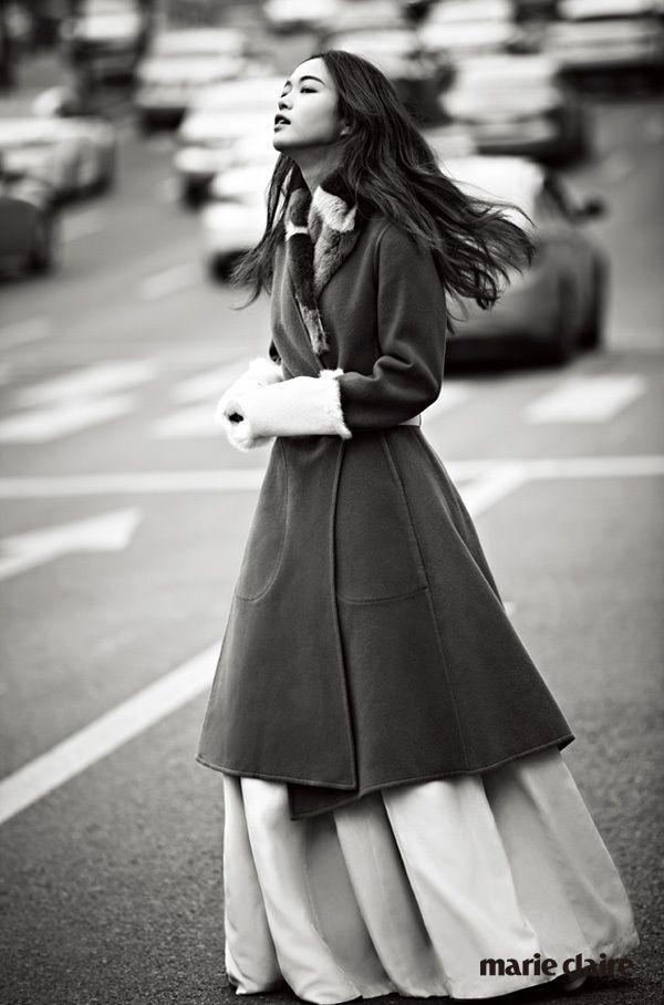 Marie Claire 2015 new korean couture 퓨전한복 fusion hanbok