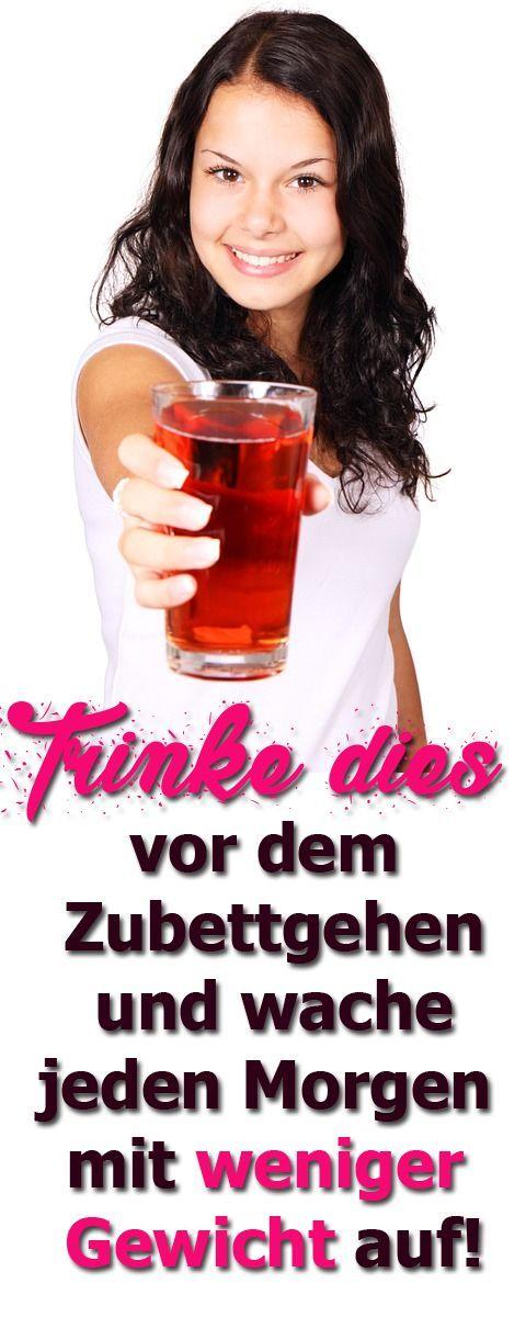 Trinke dies vor dem Zubettgehen und wache jeden Morgen mit weniger Gewicht auf
