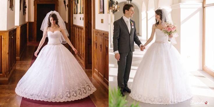 Svadobné šaty Elizabeth Hadassa