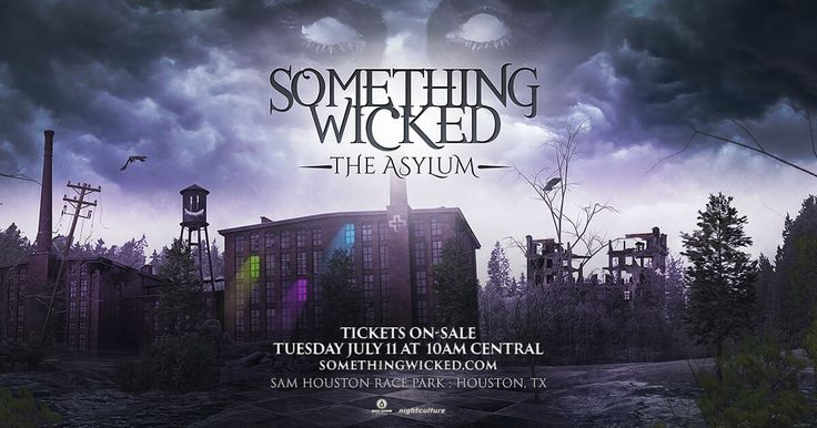 Something Wicked Festival 2017 is an electronic dance music festival in Houston, Texas on October 28-29, 2017.