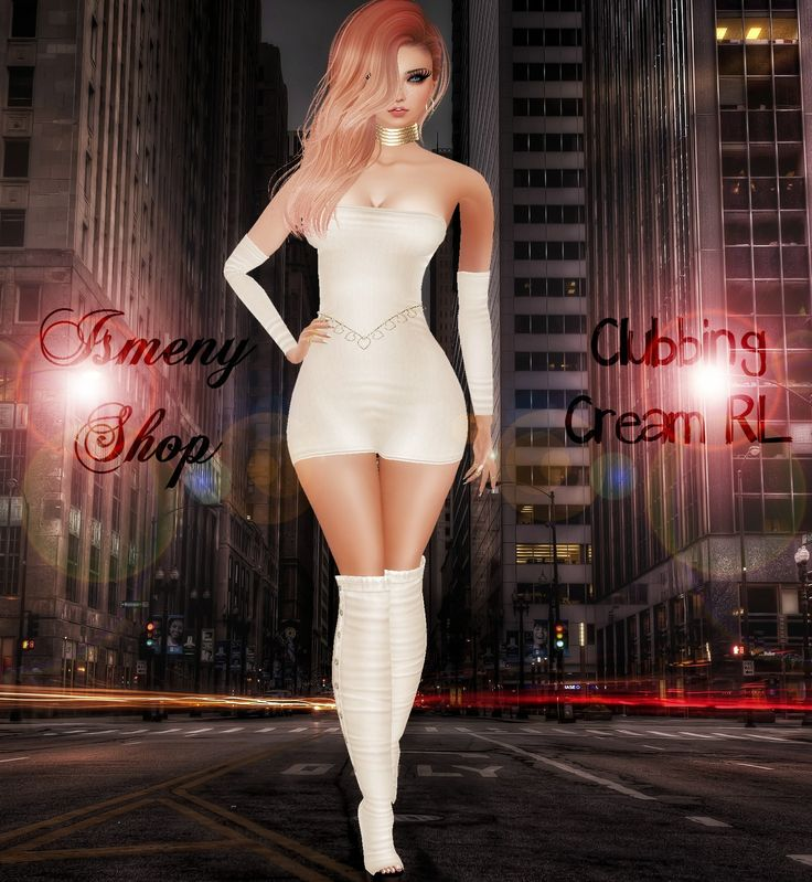 ❣❣ VISIT ISMENY SHOP ❣❣ DRESS ღ Clubbing Cream RL ღ http://es.imvu.com/shop/product.php?products_id=34600553 HAIR ღ Hirosei Rose Gold ღ SHOES ღ Suede Boots Creme ღ