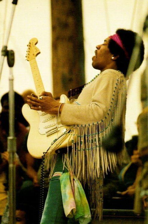 Jimi Hendrix ~ Woodstock