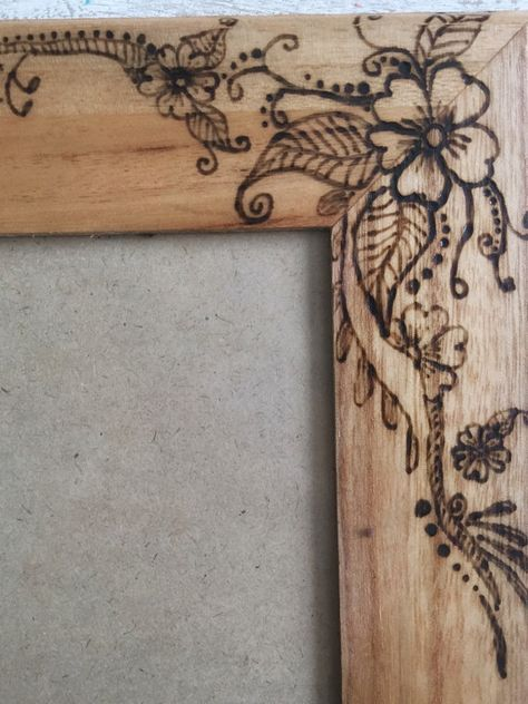 Etching Wood With A Dremel