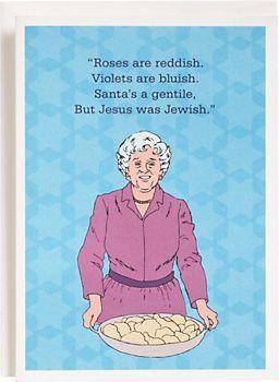 Grandma Rhyme Chanukah Cards