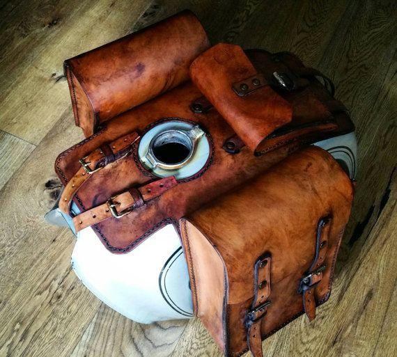 Handmade Leather Tank Bags